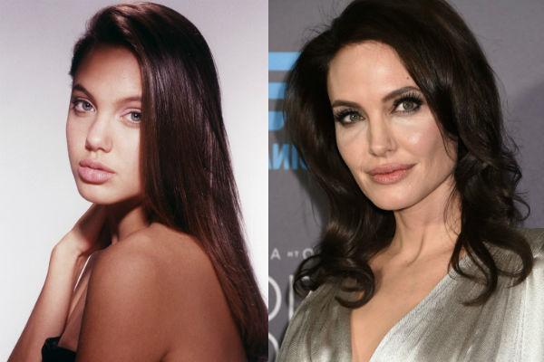 Анджелина джоли раньше и сейчас фото