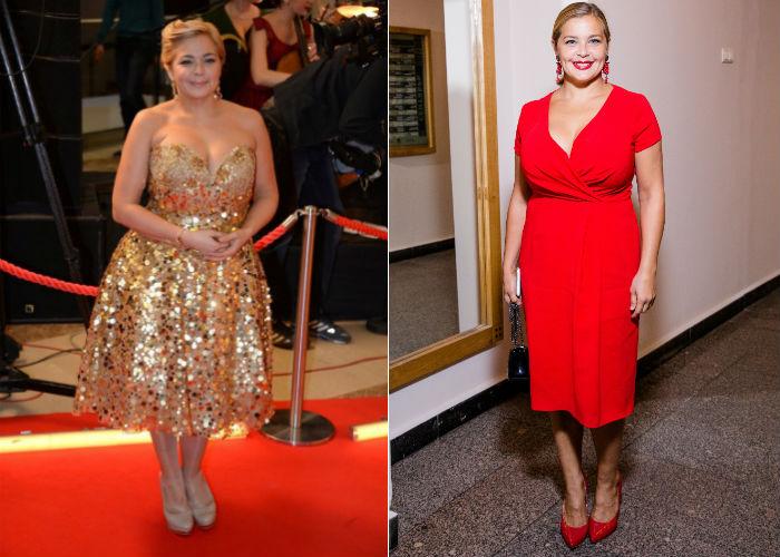 Русская актриса Ирина Пегова до и после похудения на 20 килограмм фото